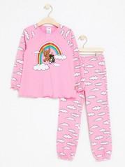Bamse Pyjamas in Pink Pink