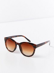Sunglasses with Plastic Frames  Brown