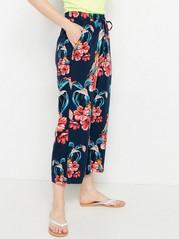 Zkrácené kalhoty BELLA Modrá