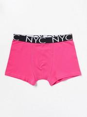 Monochrome Boxer Shorts Pink