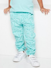Loose Trousers Turquoise