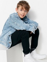 Oversize Denim Jacket Blue