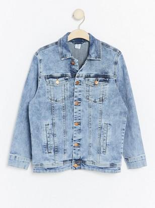 Oversize Denim Jacket Blue