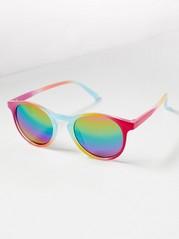 Rainbow Coloured Sunglasses Pink