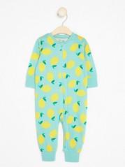 Pyjamas with Lemons Turquoise