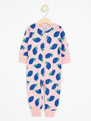 Pyjamas with Lemons Pink