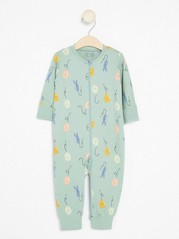 Pyjamas with Balloons Aqua