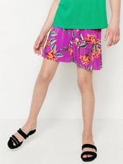 Plissert shorts Rosa