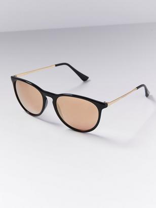 Mirror Sunglasses Black