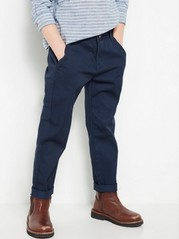 Regular Chinos Blue