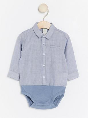 Skjortbody Blå