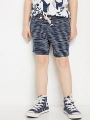 Striped Shorts Blue