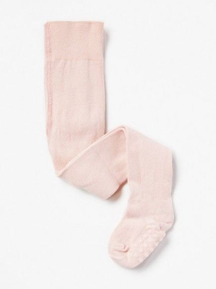 Sukkahousut, joissa liukuestepohjat Vaaleanpunainen
