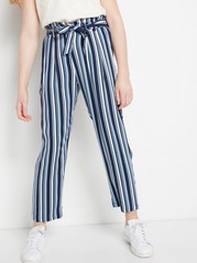 Striped Trousers  Blue