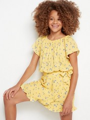 Jumpsuit with Wrap Detail Yellow