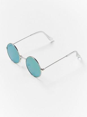 Runda solglasögon Metallic