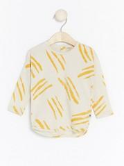 Pitkähihainen kuviollinen pusero Beige