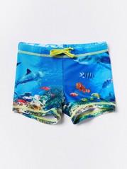 Swim Trunks Turquoise