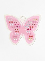 Earring Stickers Yellow