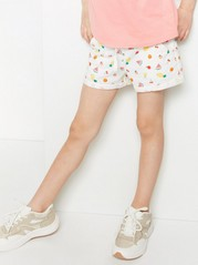 Jersey Shorts White