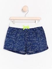 Swim Shorts with Sharks Blue