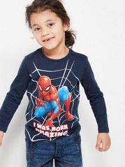 Top with Spider-man Blue