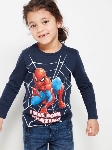 Spider-Man-pusero Sininen