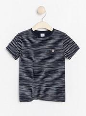 Striped long sleeve t-shirt Blue