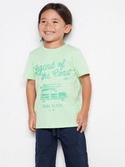 T-shirt with Print Green