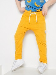 Slub Jersey Trousers Yellow