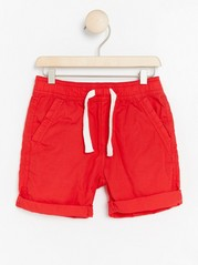 Loose shorts Red