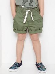 Loose shorts Khaki