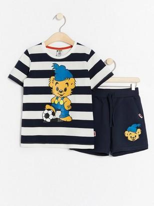 Tričko ašortky sBamsem Modrá