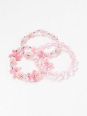 3-pack Pink Bracelets Pink