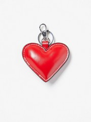 Heart Keyring  Red