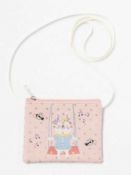 Minilaukku Vaaleanpunainen