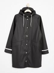 Black Rain Coat  Black
