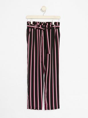 Striped Trousers Lilac