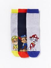 3-pakning med Paw Patrol-sokker Blå