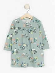 Kuviollinen mekko Aqua