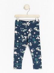 Floral Leggings Blue