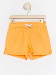 Neon Orange Swim Shorts Orange