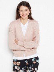 Glittery Knitted Cardigan  Pink