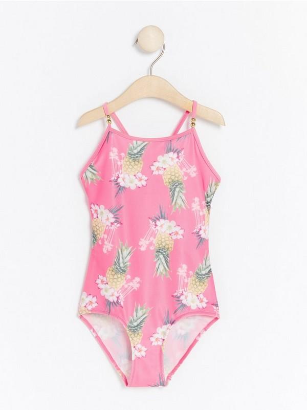 652388b88 Růžová Růžové plavky s potiskem ananasů 499,- | Lindex