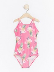 Pink Swimsuit with Pineapple Print Pink