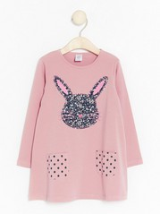 Tunic with Rabbit Pink