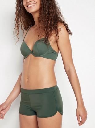 Boxer Midi Bikini Briefs Green