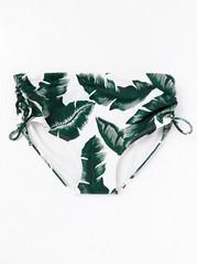 Classic Midi Bikini Briefs  Green