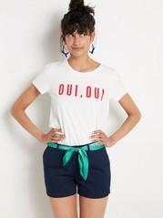 Cotton Shorts  Blue