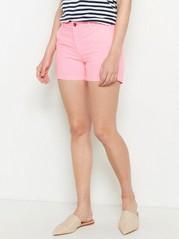 Cotton Shorts  Pink